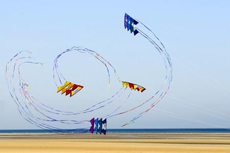 Démonstration Festival cerf-volant de Berck-sur mer