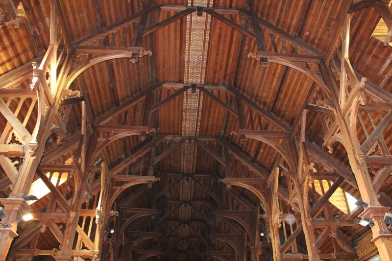 Charpente Eglise Notre-Dame-des-Sables Berck